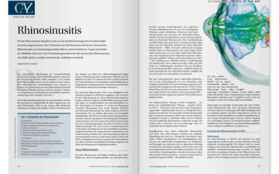 DFP-Literaturstudium: Rhinosinusitis
