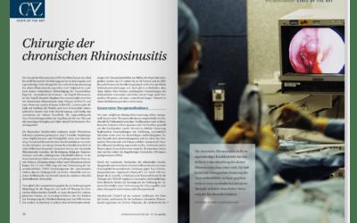 DFP-Literaturstudium: Chirurgie der chronischen Rhinosinusitis