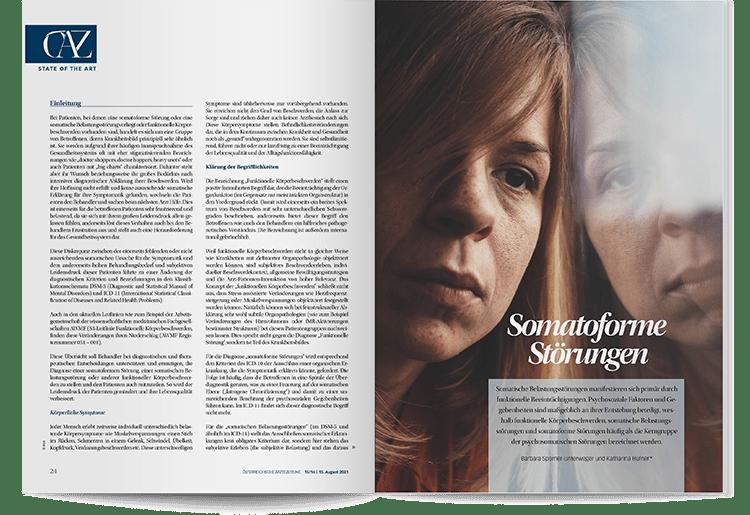 DFP Literaturstudium - Somatoforme_Stoerungen - ÖÄZ 2021-15-16-2021