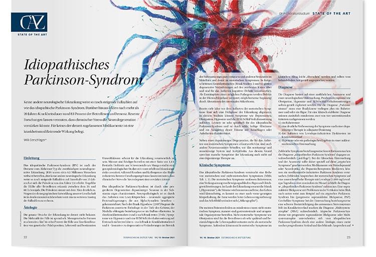 DFP-Literaturstudium: Idiopathisches Parkinson-Syndrom